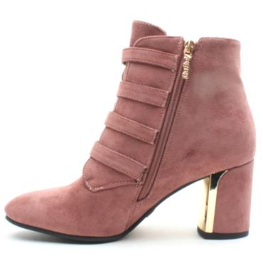 UNA HEALY HOLIDAY ANKLE BOOT - MAUVE