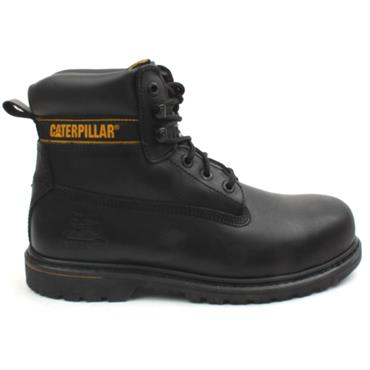 MENS STEEL HOLTON TOE BOOT - Black