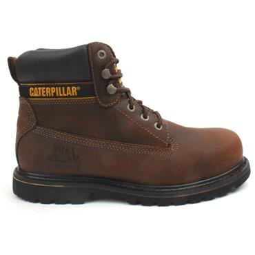 MENS STEEL HOLTON TOE BOOT - BROWN