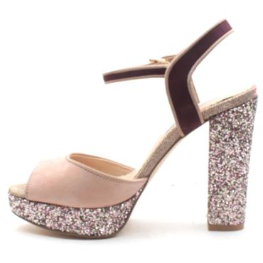 AMY HUBERMAN HOME AGAIN SANDAL - BLUSH