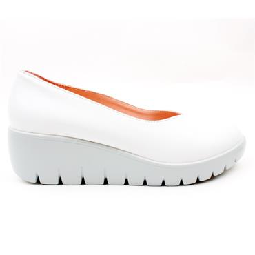 KATE APPLEBY HOVE WEDGE SHOE - ICE WHITE