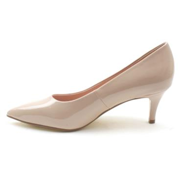 KATE APPLEBY HOWDEN LOW HEEL COURT SHOE - NUDE PATENT