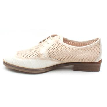 HISPANITAS HV00243 LACED BROGUE SHOE - BEIGE