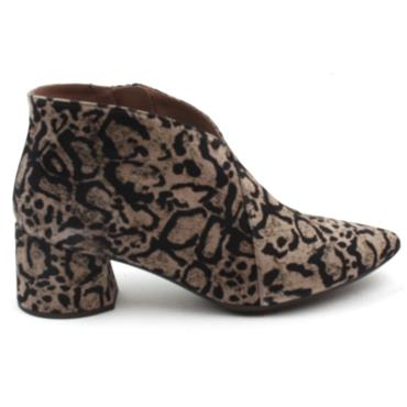 WONDERS I8021 ANKLE BOOT - LEOPARD