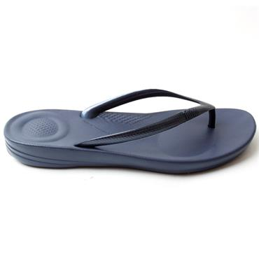 FITFLOP IQUESTION TOE POST - NAVY