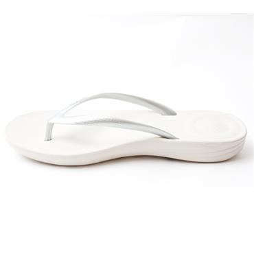FITFLOP IQUESTION TOE POST - SILVER