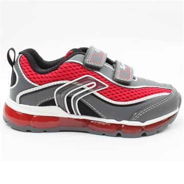 GEOX J0244C ANDROID RUNNER - GREY RED