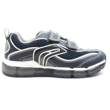 GEOX J0244C ANDROID RUNNER - NAVY GREY