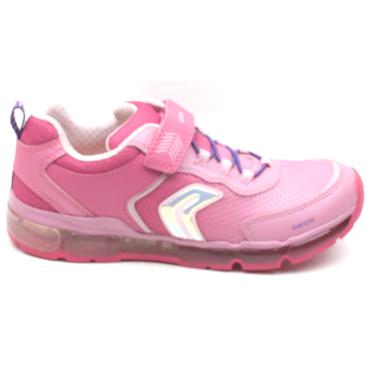 GEOX J0245A ANDROID RUNNERS - FUSHSIA