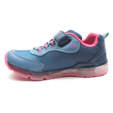 GEOX J0245A ANDROID RUNNERS - NAVY PINK
