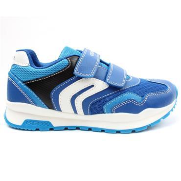 GEOX J0415A PAVEL JUNIOR RUNNER - BLUE