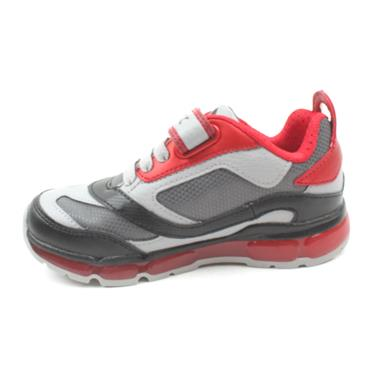 GEOX J0444B ANDROID JUNIOR RUNNER - GREY RED