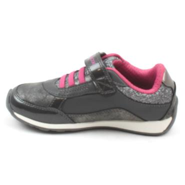 GEOX J04AUA JOCKER JUNIOR RUNNER - DARK GREY