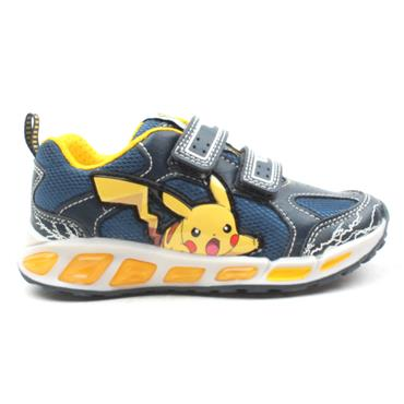 GEOX J8294C SHUTTLE RUNNER - NAVY YELLOW