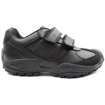 GEOX J841VB VELCRO SHOE - Black