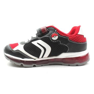 GEOX J9244B ANDROID RUNNER - BLACK/RED
