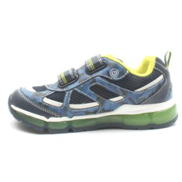GEOX J9244C ANDROID RUNNER - NAVY GREEN