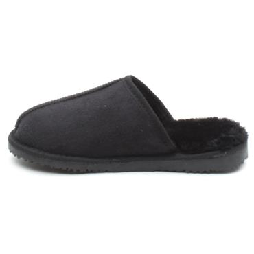 ELLA JACK SLIPPER - Black