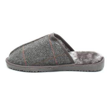 ELLA JIMMY SLIPPER - GREY