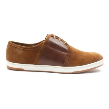 BASE MENS SHOE JIVE - TAN/SUEDE