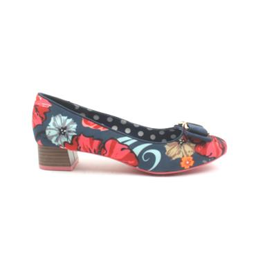 RUBY SHOO JUNE BOW SHOE - FLORAL