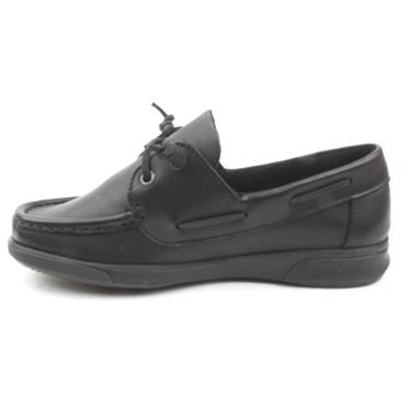 DUBARRY SHOE KAPLEY BOAT SIZE 40 UP - Black