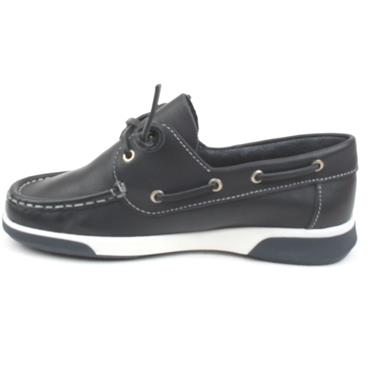 DUBARRY SHOE KAPLEY BOAT SIZE 40 UP - NAVY/WHITE