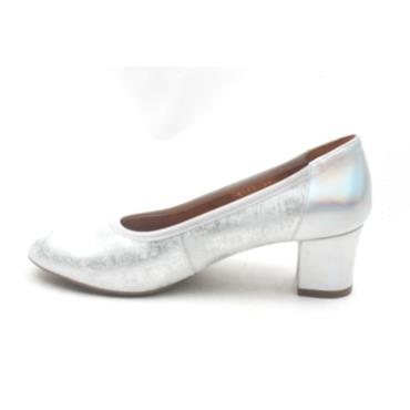 SOFTMODE KAYLEE HIGH HEEL SHOE - SILVER
