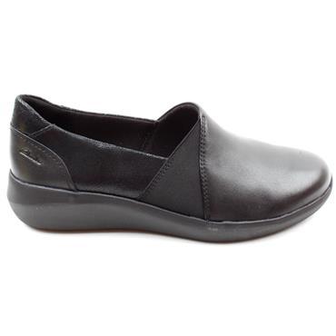 CLARKS KAYLEIGH STEP SHOE - BLACK D