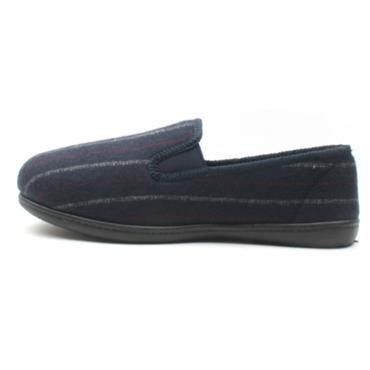 CLARKS KINGTWIN MENS SLIPPER - BLUE G