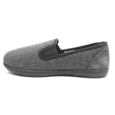 CLARKS MENS SLIPPER KINGTWIN - GREY MULTI
