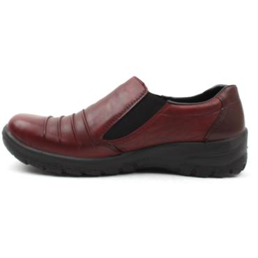 RIEKER L7154 TEX SHOE - WINE