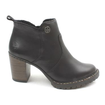 RIEKER L9283 ANKLE BOOT - Black