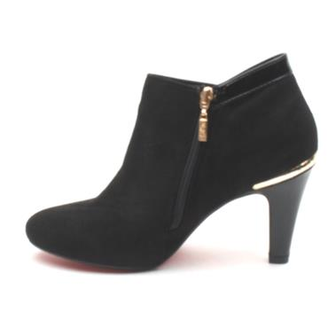 KATE APPLEBY LACOCK ANKLE HEEL - Black