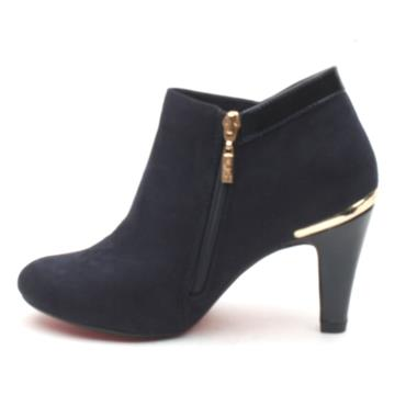 KATE APPLEBY LACOCK ANKLE HEEL - NAVY