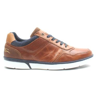 LLOYD & PRYCE LARMOUR LACED SHOE - CAMEL