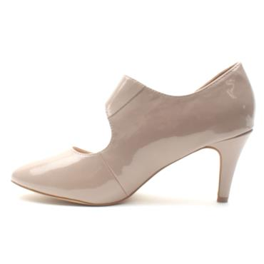 LOTUS LAURANA STRAP SHOE - NUDE PATENT