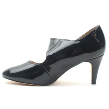 LOTUS LAURANA STRAP SHOE - NAVY PATENT