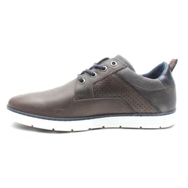 LLOYD7PRYCE LEAVY LACED SHOE - GREY