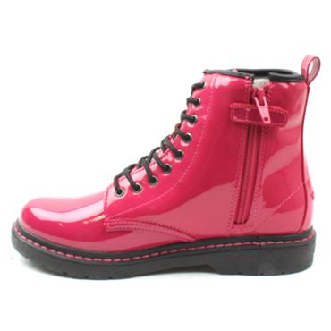 LELLI KELLY LK7500 LACED BOOT - PINK PATENT