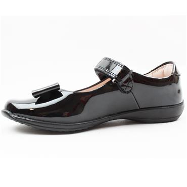 LELLI KELLY LK8206 GIRLS SHOE - BLACK PATENT