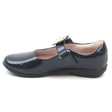 LELLI KELLY LK8311 CHANGE STRAP SHOE - NAVY PATENT