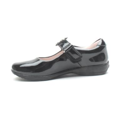 LELLI KELLY LK8312 STRAP SHOE - BLACK PATENT