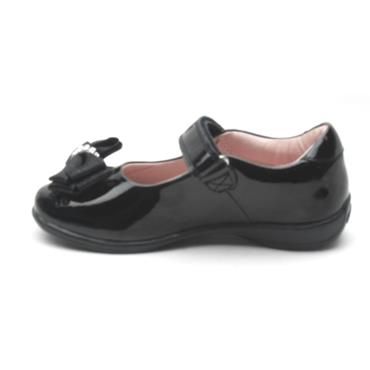LELLI KELLY LK8314 STRAP SHOE - BLACK PATENT