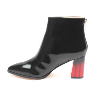UNA HEALY LOVECHILD ANKLE BOOT - BLACK PATENT