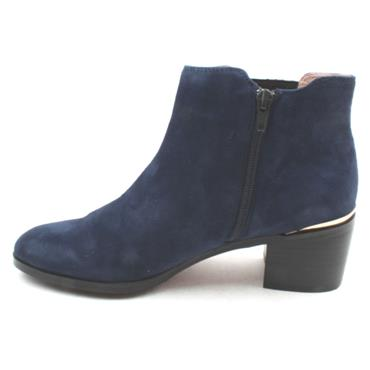 BOURBON AMY HUBERMAN BOOT LOVESIMON - NAVY SUEDE