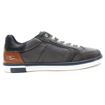 LLOYD AND PRYCE LYNAGH LACED SHOE - CHARCOAL