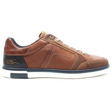 LLOYD AND PRYCE LYNAGH LACED SHOE - TAN