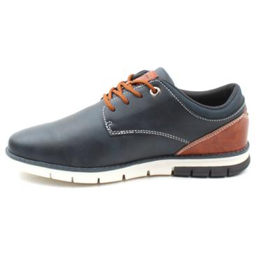 LLOYD&PRYCE MARSHALL LACED SHOE - NAVY