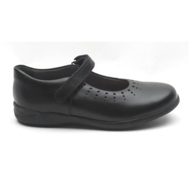STARTRITE MARY JANE STRAP SHOE - BLACK G